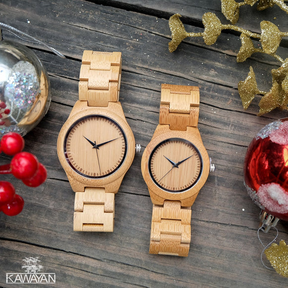 Why you should be wearing these Kawayan wooden watches!