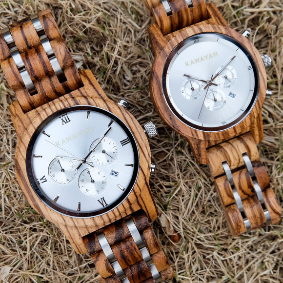The Savannah Premium Couple Watch