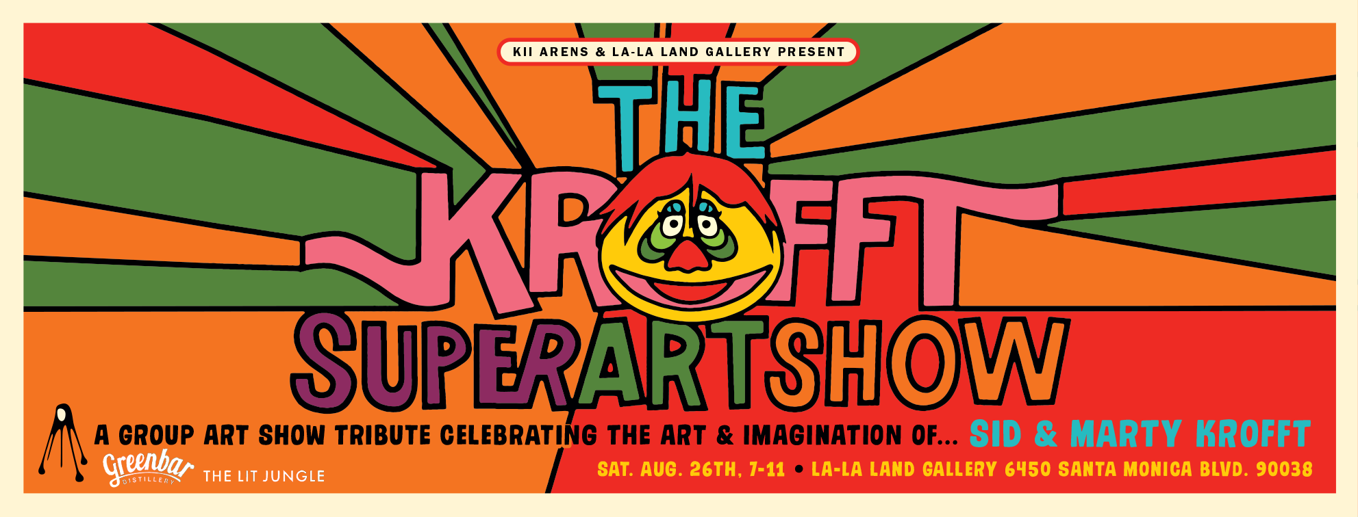 The Krofft Super Art Show - Be There!