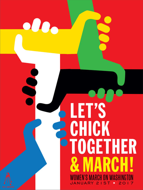 Let's Chick Together and March Signed By Kii