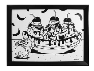 The Banana Splits Banana Split by Anthony Ausgang
