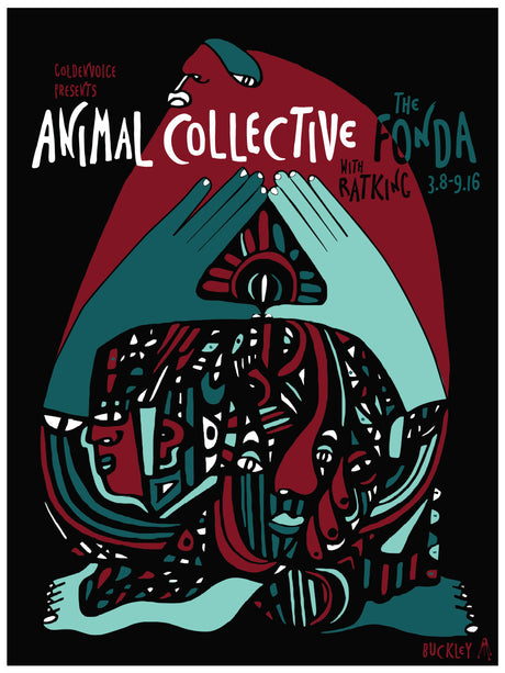 ANIMAL COLLECTIVE The Fonda 2016