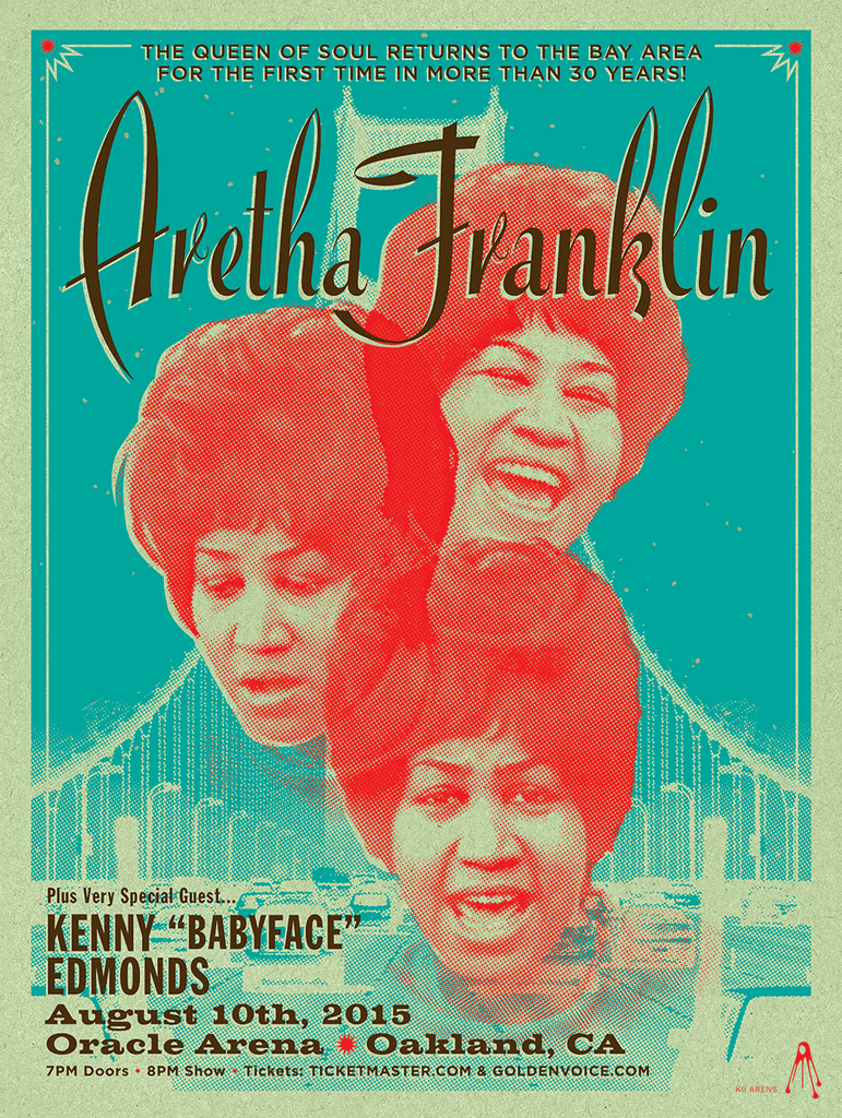Aretha Franklin - Oracle Arena - August, 2015