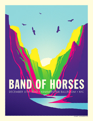 BAND OF HORSES Hammerstein Ballroom 2012