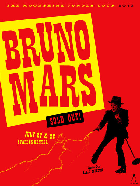 BRUNO MARS Staples Center 2013