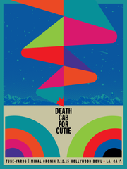 Death Cab for Cutie - Hollywood Bowl - July, 2015