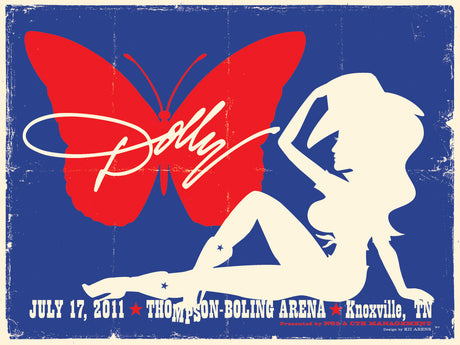 DOLLY PARTON Thompson-Boling Arena 2011