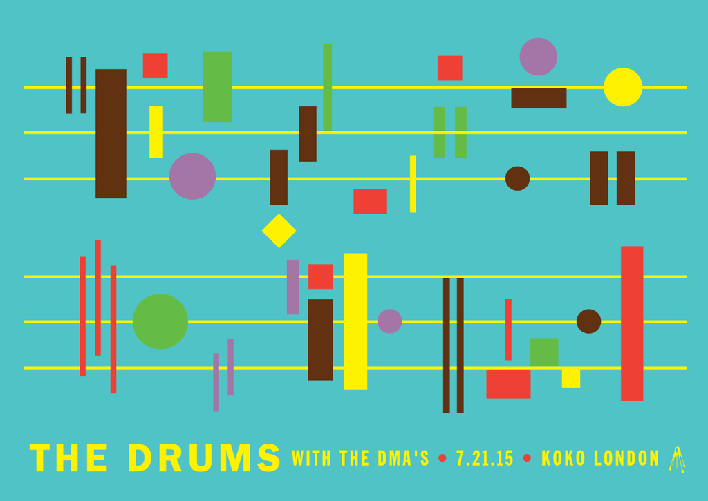 THE DRUMS Pomona 2015