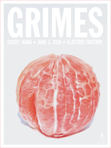 GRIMES Electric Factory 2016