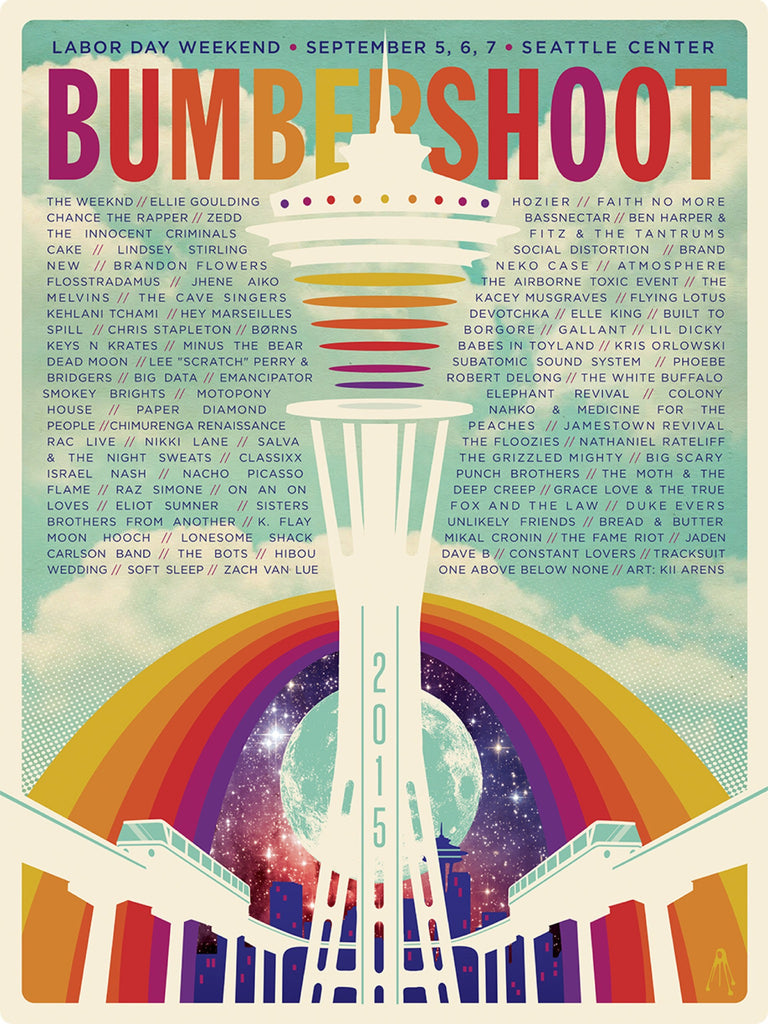 Bumbershoot Music Festival - Seattle Center - September, 2015