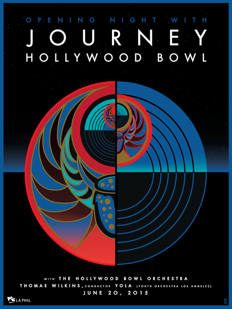 JOURNEY Hollywood Bowl 2015