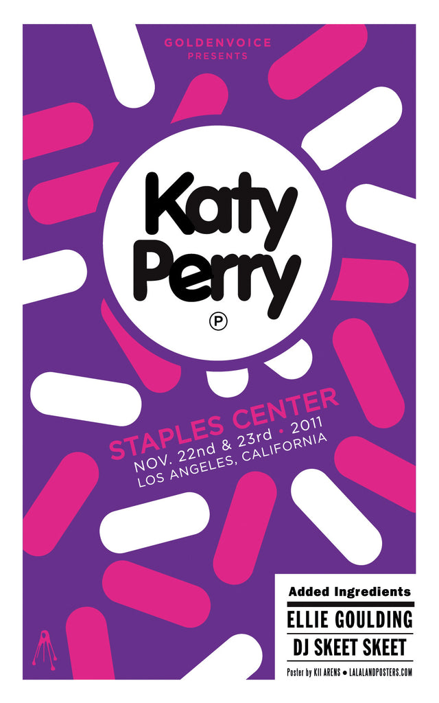 KATY PERRY Staples Center 2011