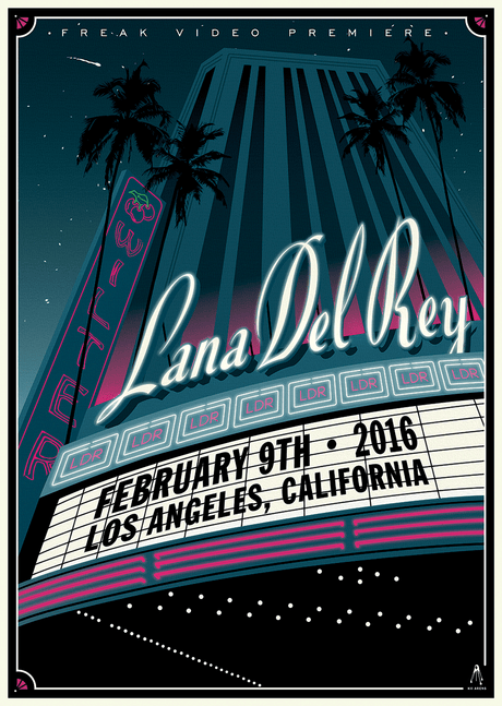 Lana Del Rey - The Wiltern - February, 2016