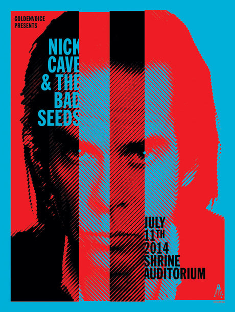 NICK CAVE Shrine Auditorium 2014