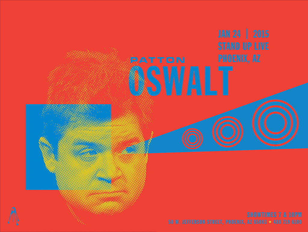 PATTON OSWALT Stand Up Live 2015