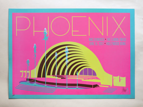 Phoenix Hollywood Bowl 2017 Signed by Kii Arens