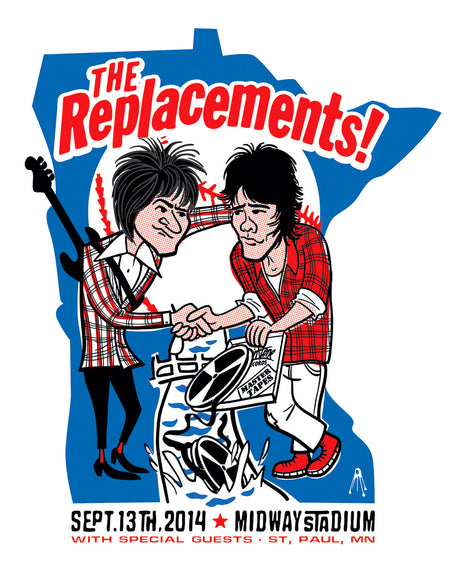 The Replacements - Minnesota Homecoming - Midway Stadium - September, 2014