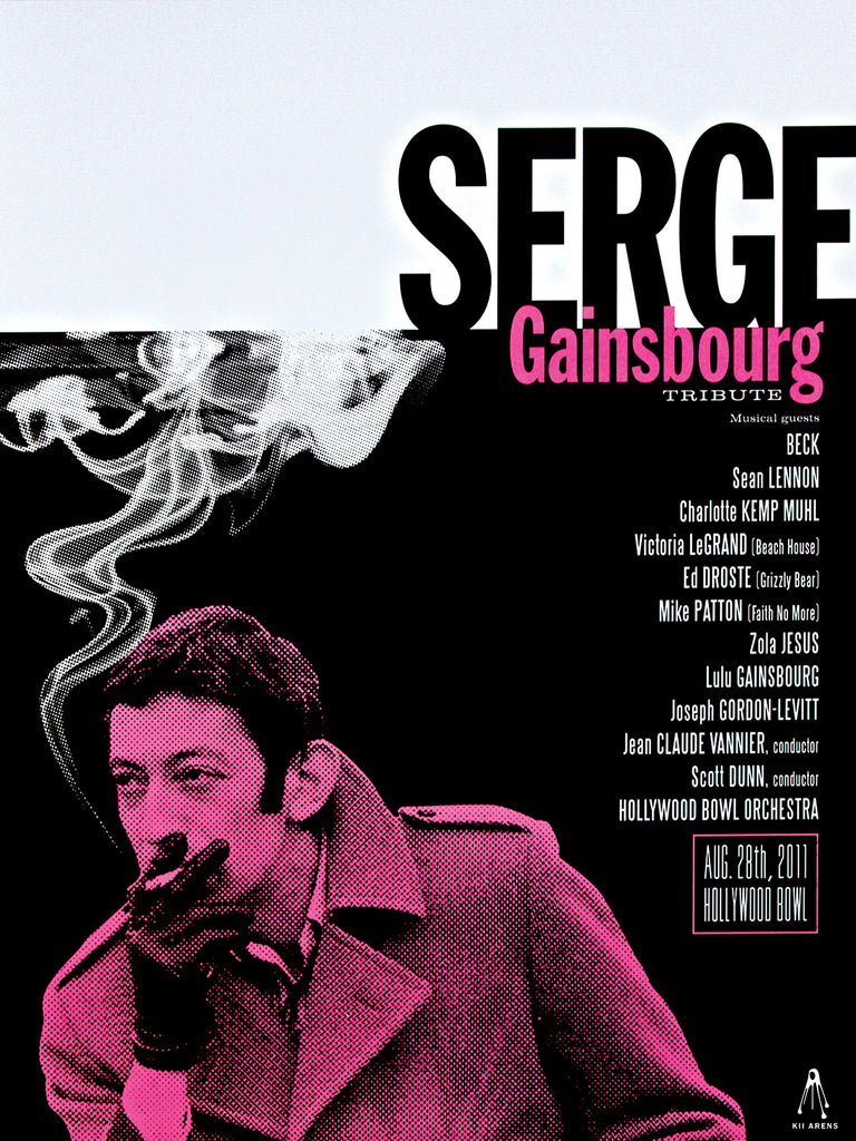 Serge Gainsbourg Tribute - Hollywood Bowl - August, 2011