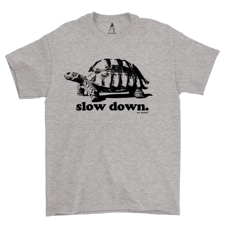 Slow Down Black & White T-Shirt
