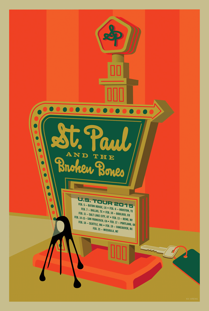 ST. PAUL & BROKEN BONES US Tour 2015