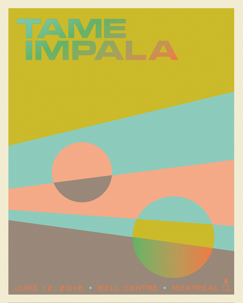 TAME IMPALA Bell Centre 2016