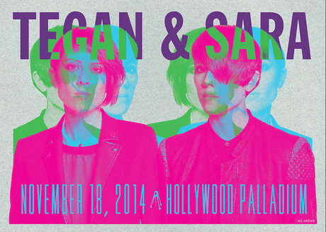 Tegan and Sara - Hollywood Palladium - November, 2014