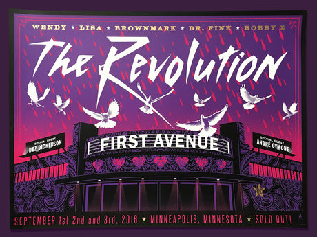 THE REVOLUTION First Avenue 2016