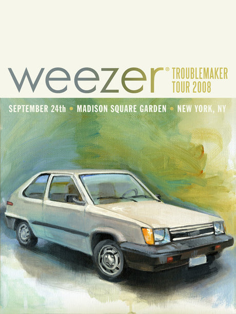Weezer - Tercel Madison Square Garden - September, 2008