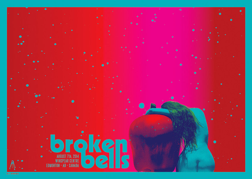 Broken Bells - Winspear Centre - August, 2014 - Apple