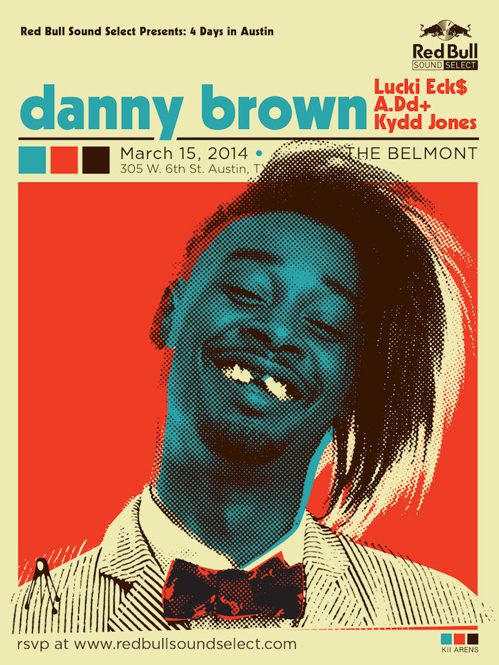 Danny Brown - The Belmont SXSW - March, 2014