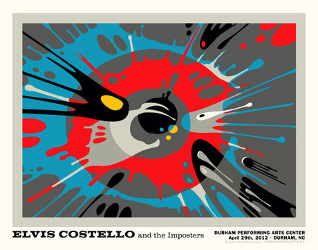 Elvis Costello - Durham Performing Arts Center - April, 2012