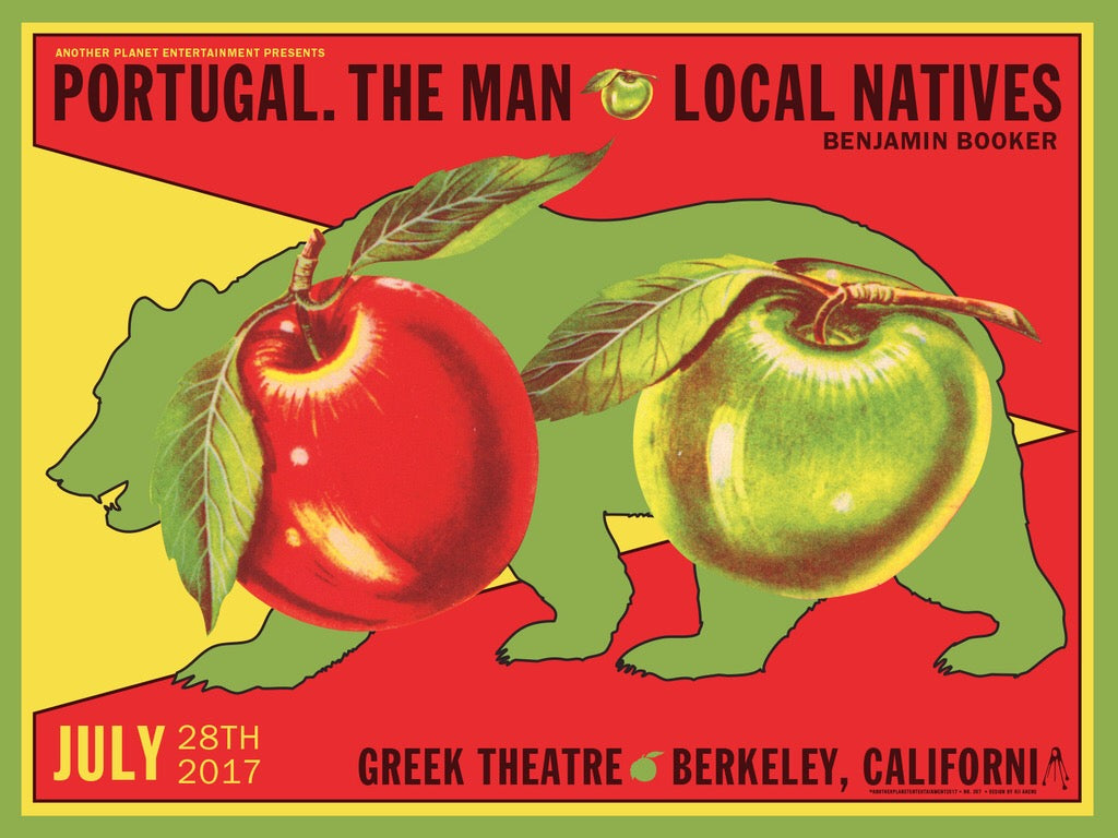Portugal. The Man & Local Natives - The Greek Theatre - July, 2017