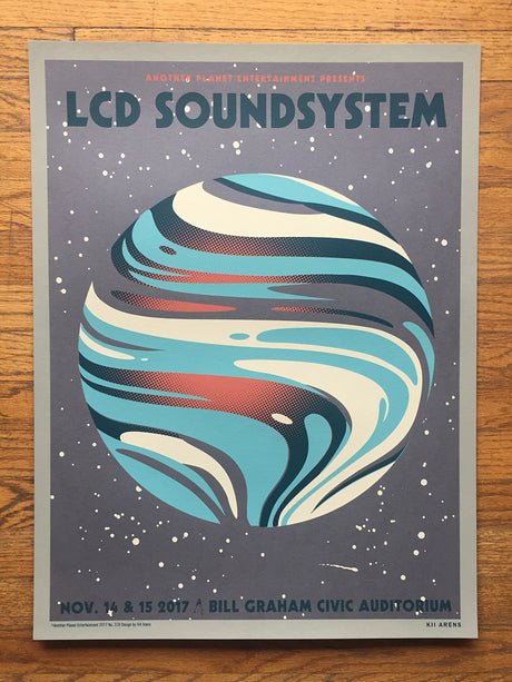 LCD SOUNDSYSTEM - Bill Graham Civic Auditorium - November, 2017
