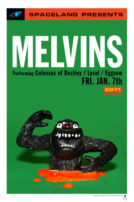 Melvins - Spaceland Residency - January, 2011: V4