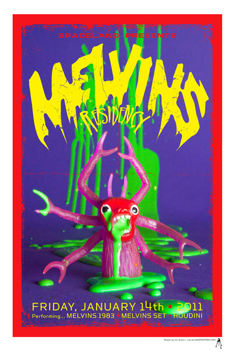 MELVINS  Spaceland Residency January 2011 V3