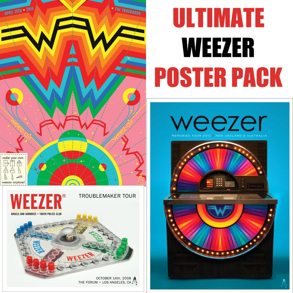 Ultimate Weezer Poster Pack