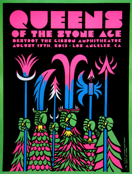 Queens of the Stone Age - Gibson Amphitheater - August, 2013