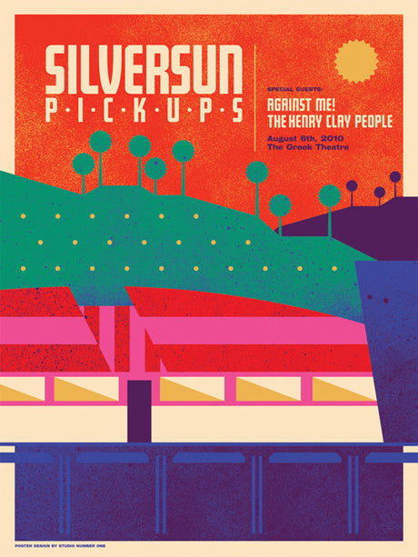 Silversun Pickups - Greek Theater - August, 2010