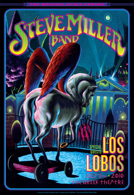 STEVE MILLER / LOS LOBOS The Greek Theatre