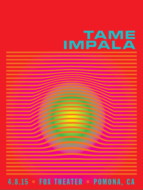 Tame Impala - Fox Theatre Pomona - April, 2015
