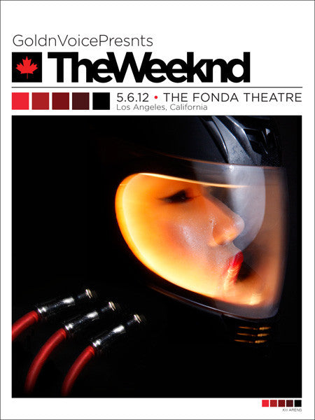The Weeknd - The Fonda - May, 2012