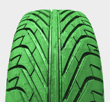 AR-T Sport 235/45-17 Colored Smoke *GREEN* - ALPHA Racing Tyres -