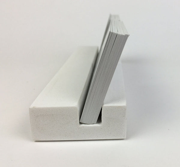 Multiple Business Card Holder - White Quartz