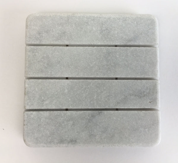 Marble Soap Dish – White Carrara Marble Stone Soap Holder