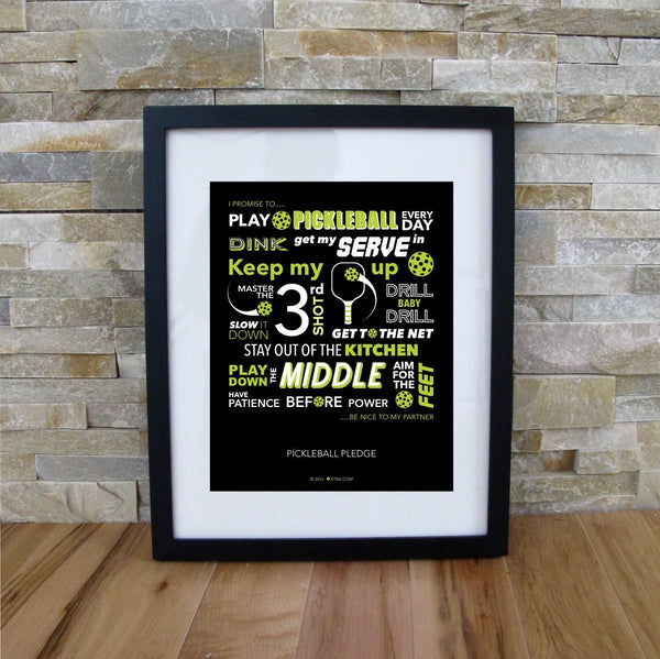 Pickleball Prints