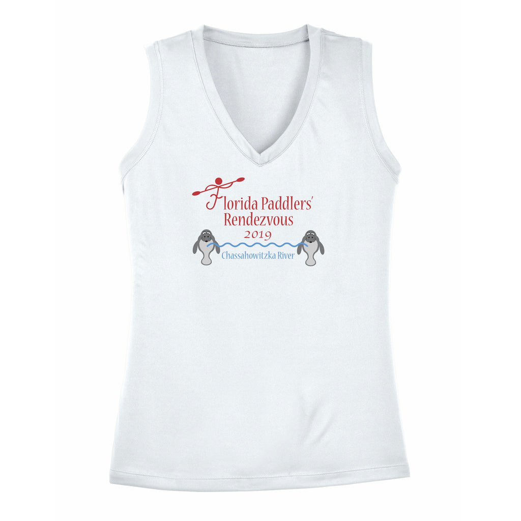 2019 Official Florida Paddlers Rendezvous Ladies Performance Sleeveless Tank