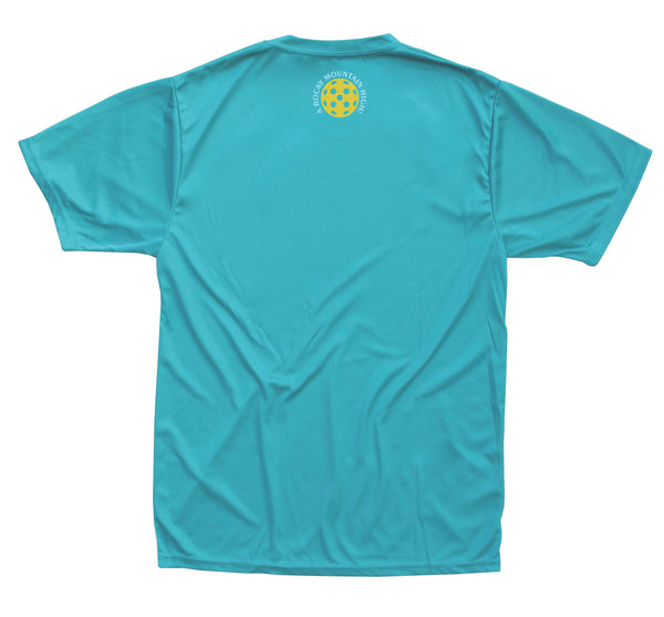 2019 Aspen Colorado Pickleball Men's Performance T-Shirt