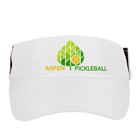 Aspen Pickleball Embroidered Performance Dri-Fit Visor by Pickleball Xtra