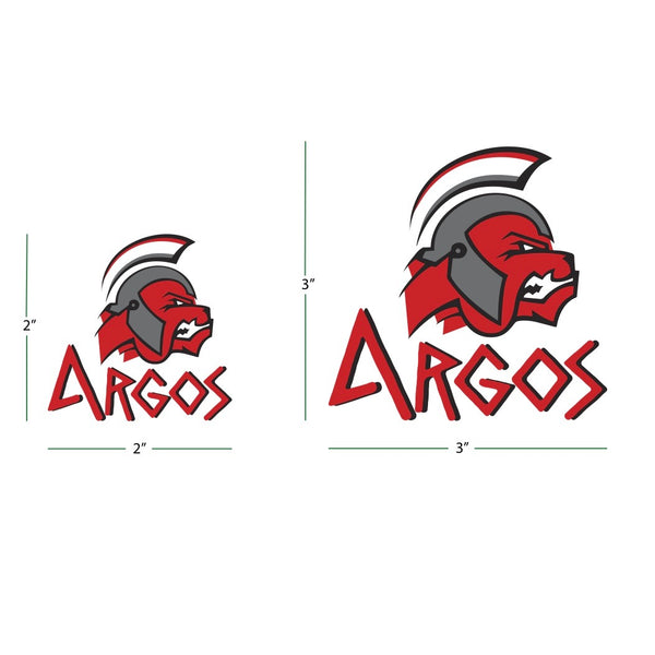 Custom Order - Argos Decal