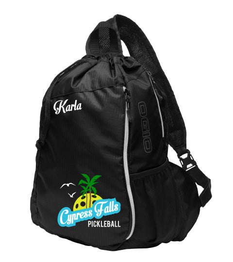 Cypress Falls Pickleball Sling Bag - OGIO® Pickleball Bag - Pickleball Sports Bag